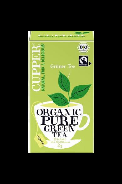 CUPPER Tiszta Zöld bio & fairtrade tea