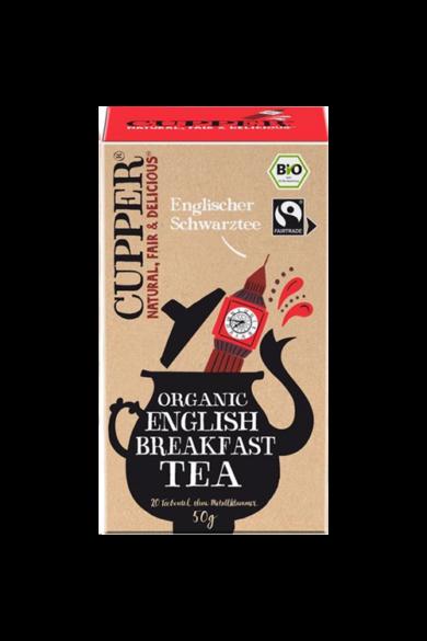 CUPPER English Breakfast Fairtrade & bio tea