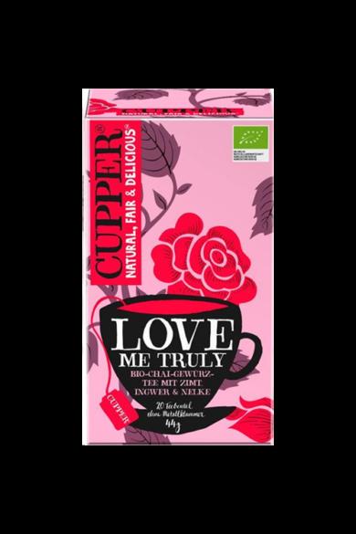 CUPPER  Love Me Truly - Fűszeres Chai bio tea
