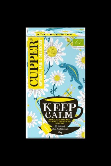 CUPPER  Keep Calm bio tea