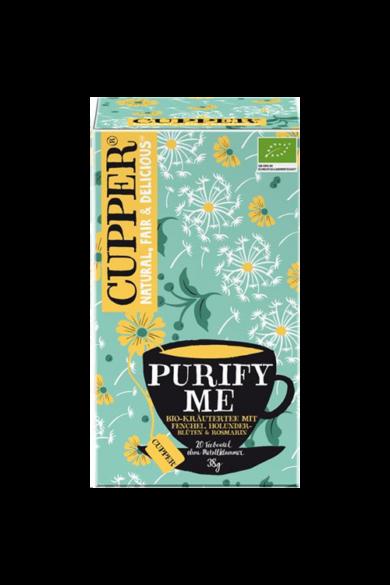 CUPPER Purify Me  bio tea