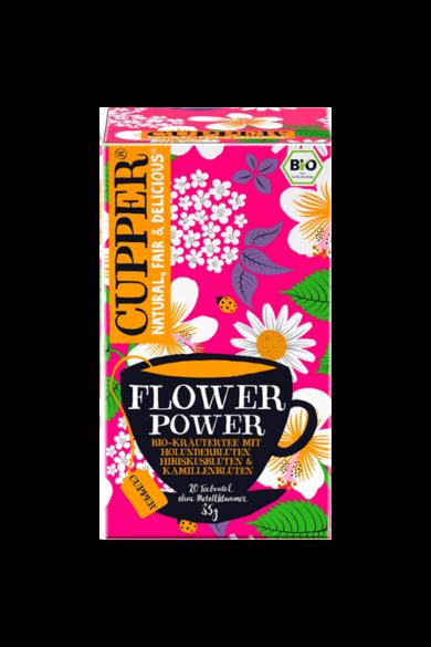 CUPPER Flower Power bio tea