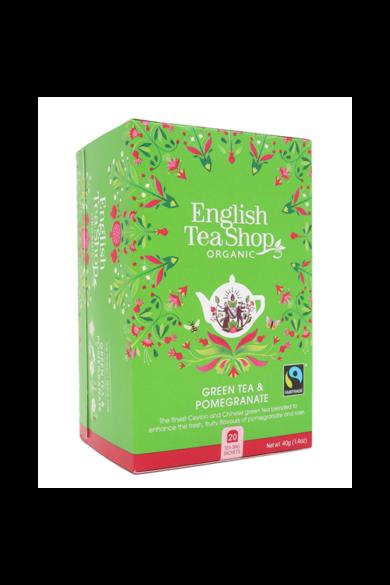 ETS 20 Zöld bio tea Gránátalmás