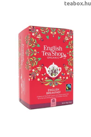ETS 20 English Breakfast bio tea