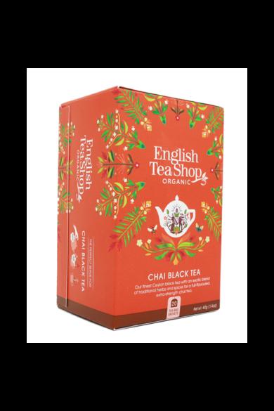 ETS 20 Fekete Chai bio tea