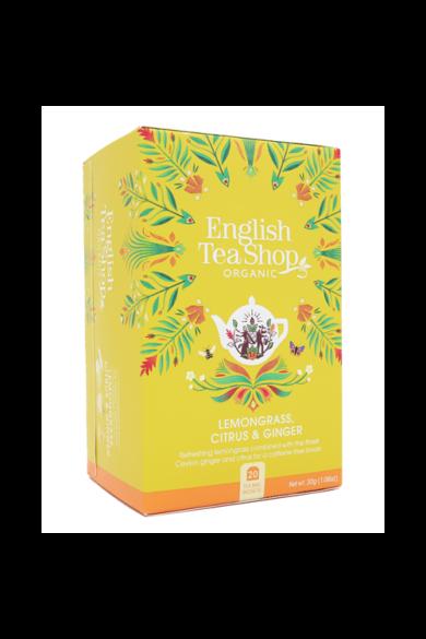 ETS 20 Citromfű Gyömbér & Citrus bio tea