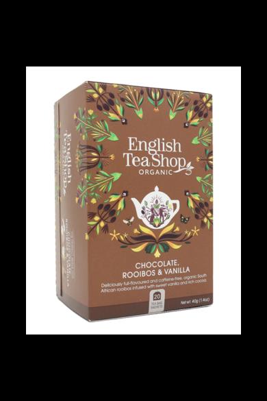 ETS 20 Csokoládés & Vaniliás Rooibos bio tea