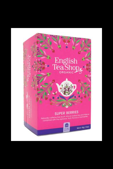 ETS 20 Szuperbogyó bio tea