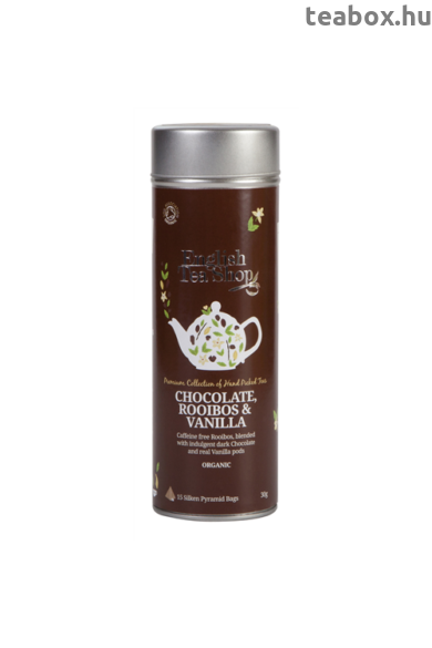 ETS 15 Csokoládés & Vaniliás Rooibos bio tea