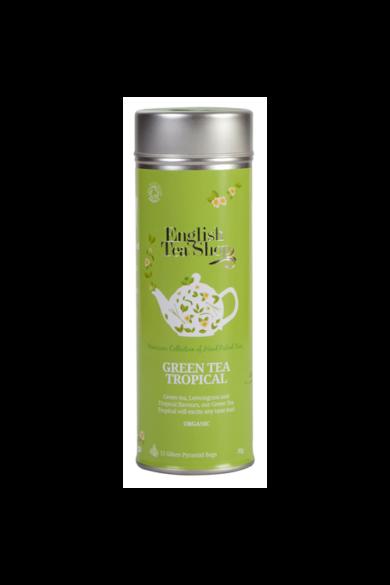 ETS 15 Zöld bio tea Trópusi gyümölcsös