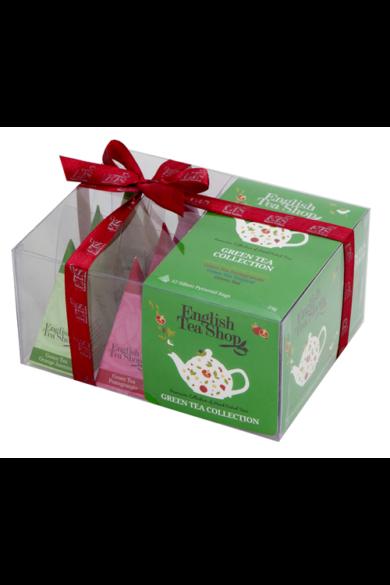 ETS 12 Zöld tea bio teaválogatás -piramis