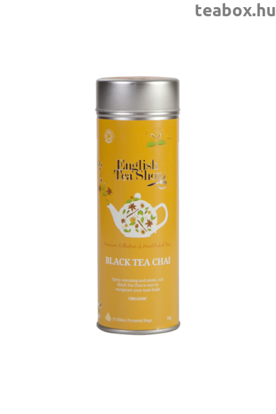 ETS 15 Fekete Chai bio tea