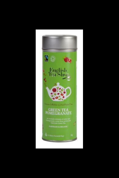 ETS 15 Zöld bio tea Gránátalmás