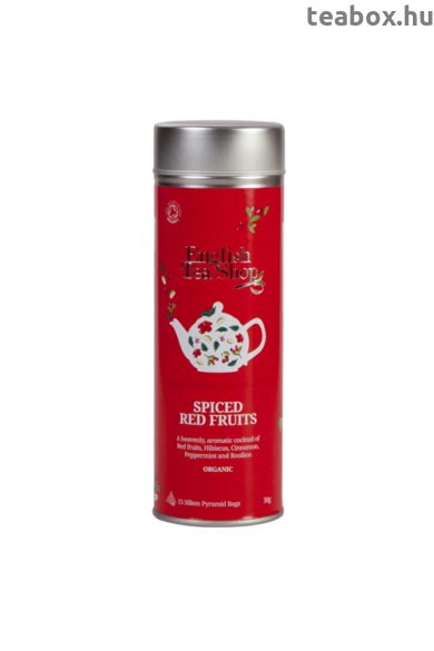 ETS 15 Fűszeres Pirosgyümölcs bio tea