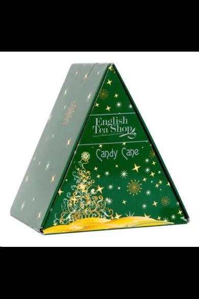 ETS 6 Piramis candy cane bio ajándék tea