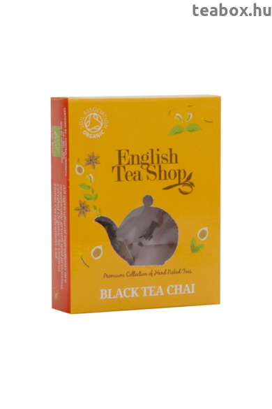 ETS 1 Fekete Chai bio tea