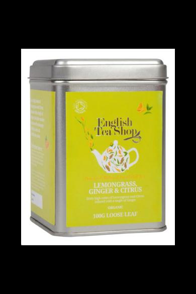 ETS 100 g Szálas Citromfű Gyömbér & Citrus bio tea