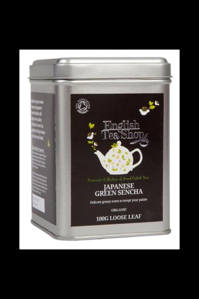 ETS 100 g Szálas Japán Zöld Sencha bio tea