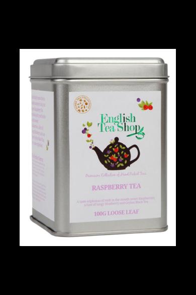 ETS 100 g Szálas Málnás Fekete bio tea