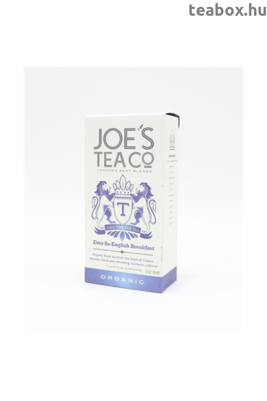 Joe's English Breakfast bio tea