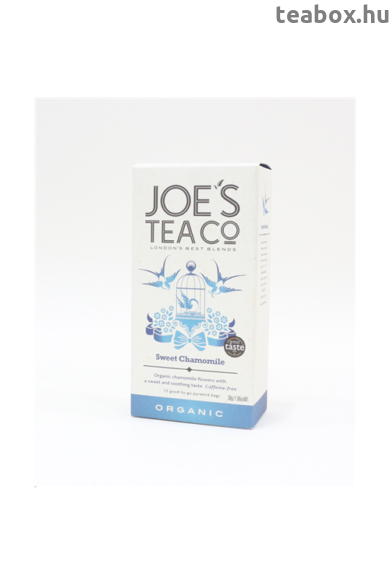 "Joe's ""Édes""  kamilla bio tea"