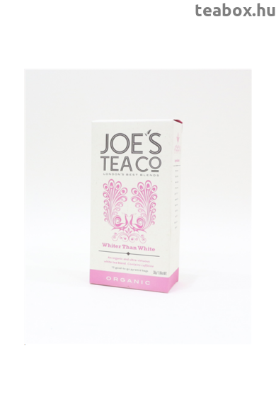 Joe's Fehérnél is fehérebb bio tea