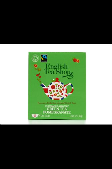 ETS 8 Zöld bio tea Gránátalmás