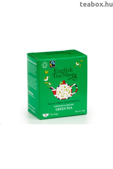 ETS 8 Fairtrade & Bio Zöld tea