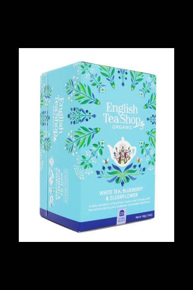 ETS 20 Fehér bio tea Áfonyás &  Bodzás