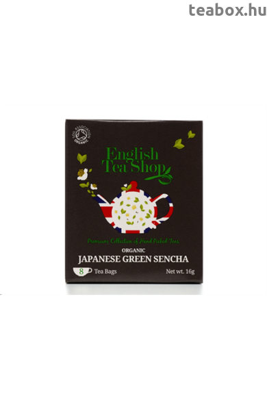 ETS 8 Japán Zöld Sencha bio tea