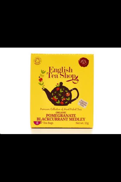 ETS 8 Gránátalma & Feketeribizli bio tea