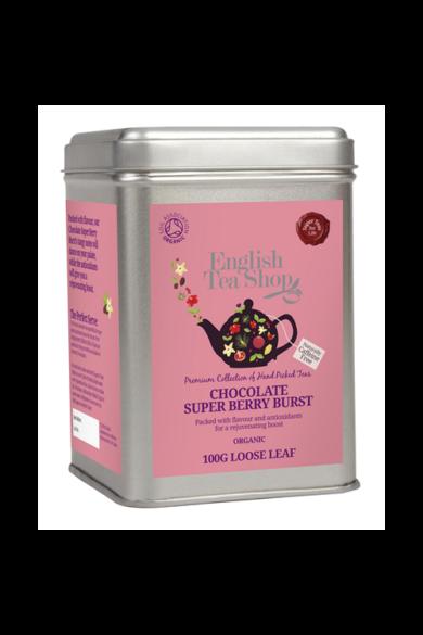 ETS 100 g Szálas Csokis Szuperbogyó bio tea