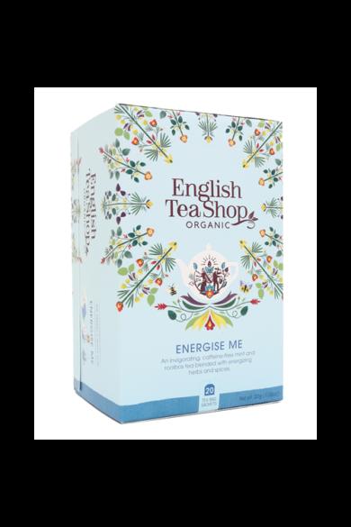 ETS 20 Wellness  Energise Me-Energizáló bio tea