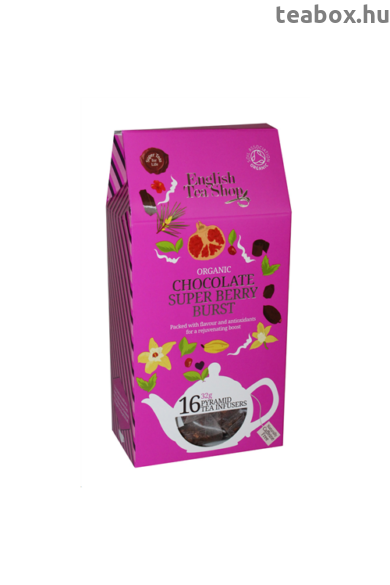 ETS 16 Csokis Szuperbogyó bio tea