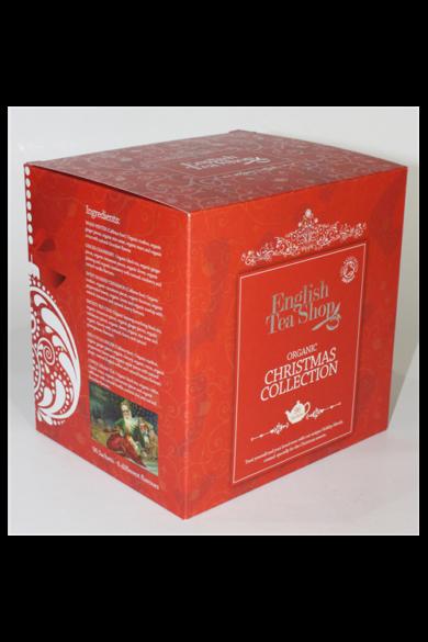 ETS 96 Ünnepi bio teaválogatás Piros kocka