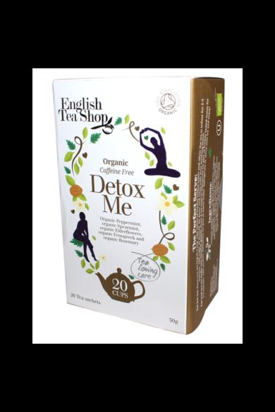 ETS 20 Wellness Detox Me-Méregtelenítő bio tea