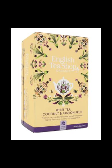 ETS 20 Fehér bio tea Kókuszos &  Maracujás