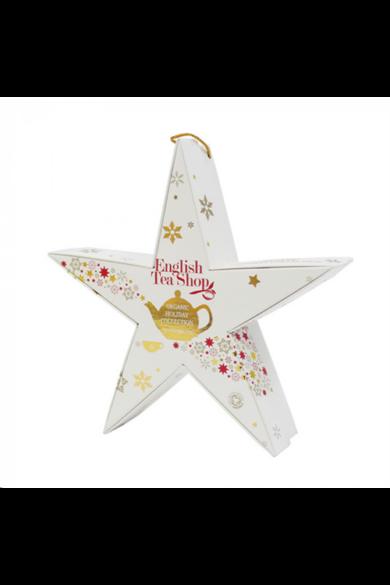 ETS 6 Karácsonyi csillag Piros - arany bio teaválogatás