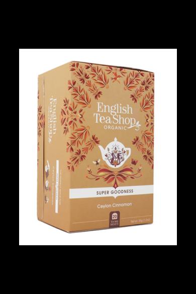 ETS 20 Ceyloni bio fahéj tea új