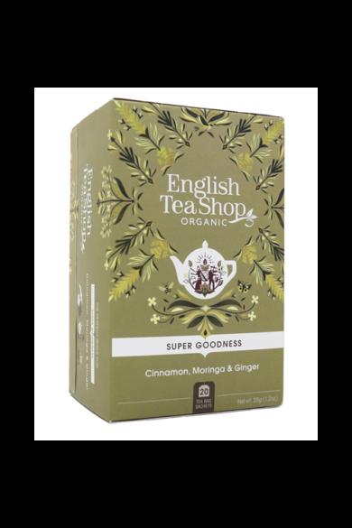 ETS 20 Fahéj, moringa és gyömbér bio tea új