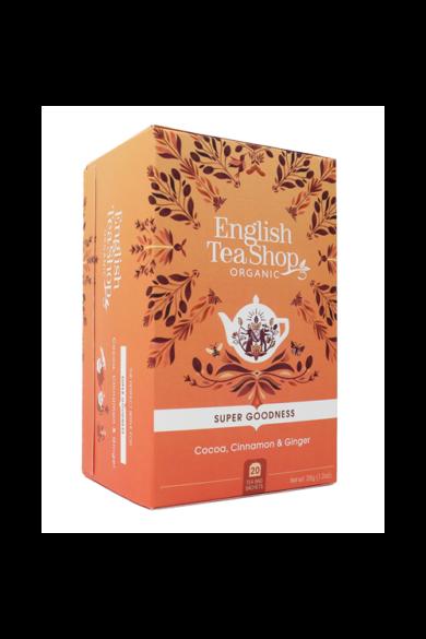 ETS 20 Kakaós, fahéjas gyömbér bio tea új