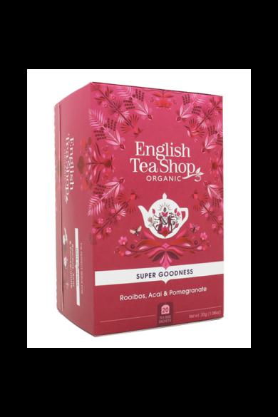 ETS 20 Rooibos bio tea acai bogyóval és gránátalmával új