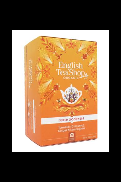 ETS 20 Gyömbér, citromfű bio tea kurkumával új