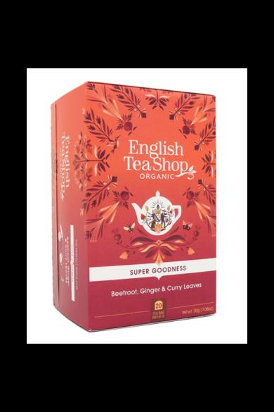 ETS 20 Cékla, gyömbér curry levelek bio tea új