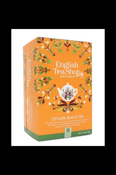 ETS 20 Ceylon fekete bio tea új