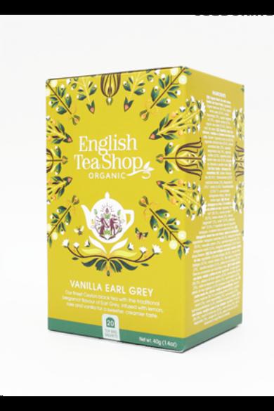 ETS 20 Vaníliás Earl Grey bio tea új