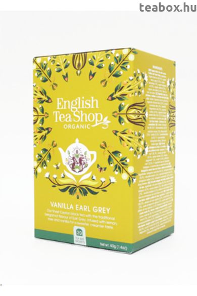 ETS 20 Vaníliás Earl Grey bio tea