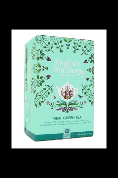ETS 20 Zöld bio tea mentával új