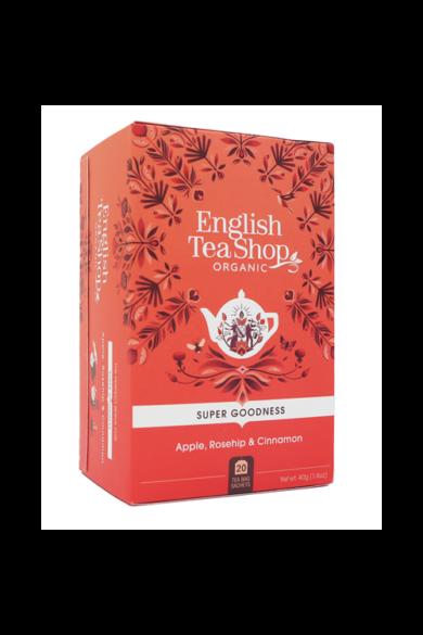 ETS 20 Almás, csipkebogyó, fahéjjal bio tea