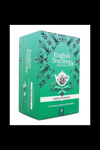 ETS 20 Áfonya hibiszkusz  bio tea, csipkebogyóval